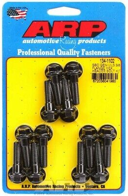 Header Bolt - 8 mm x 1.25 Thread - 1.181 in Long - Hex Head - Washers Included -
