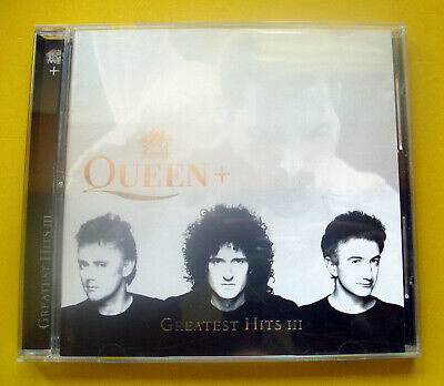 """CD """" Queen - Greatest Hits III """" Best Of / 17 Songs (The Show Must Go On)"""