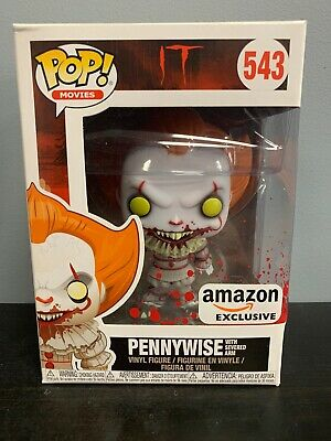 Funko POP Pennywise with Severed Arm IT Amazon Exclusive Vinyl Figure #543