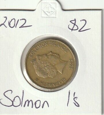 Solomon Islands 2012 $2 Coin Circulated