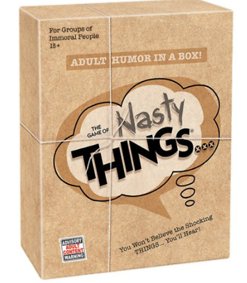 The Game of Nasty Things Card Game NEW