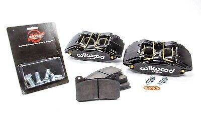 Wilwood Caliper & Pad Kit Front for Honda/Acura Black 140-13029