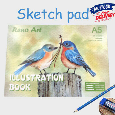 Atrist Painting Art Craft Book Paper Drawing A5 Sketch Pad 100gsm illustration