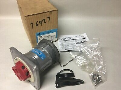 Crouse-Hinds AR647 Arktite Receptacle M3 Body Grounded 4 Amp 4 Wire Pole Style 1
