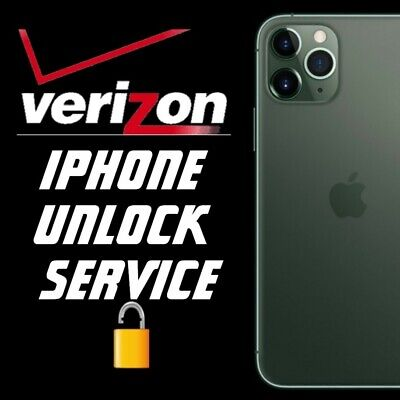 Verizon Factory Unlock Service For Iphone 11, 11 Pro, Xs Max, Xr