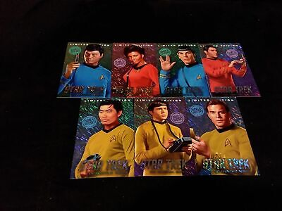 Dave and Busters Star Trek Limited Edition Foil Cards