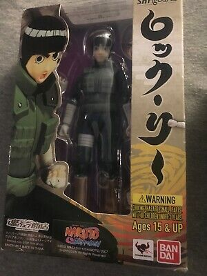 Rock Lee S.H.Figuarts Ban Dai Brand New & Sealed Naruto Shippuden