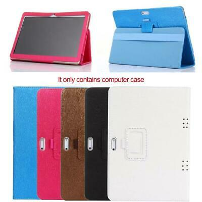 Universal 10 10.1 Inch Folio Leather Stand Cover Case Tablet For Android PC X3C4