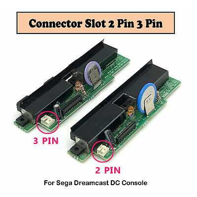 2 Pin 3 Pin Connector Slot For Sega Dreamcast DC Controller Joystick Console VAI
