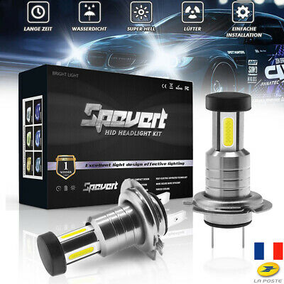 H7 Phare LED 5050 CSP Chip 110W Remplacer l'ampoule Kit Error Free Lampe 30000LM