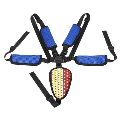 Seat Belt Children Adjustable Fixing 5 Point Harness Baby Stroller Accessories
