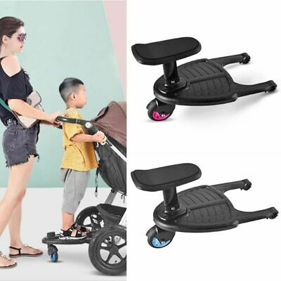 Stroller Pedal Children Adapter Second Auxiliary Trailer Twin Scooter Hitchhiker