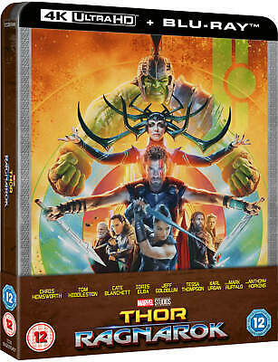 Thor: Ragnarok [SteelBook] [4K+Blu-ray] New & Sealed - PRE-ORDER!