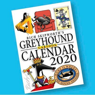 Rich Skipworth's 2020 Greyhound Cartoon Calendar