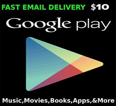 Google Play Gift Card $10 USD 🔥 Fast Delivery 🔥