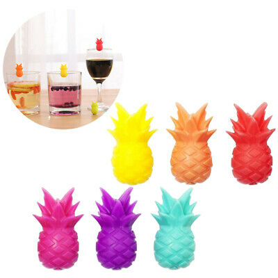 10 pcs Wine Glass Marker Creative Silicone Stylish Cup Marker Charms for Parties