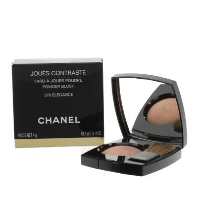 Chanel Brown Powder Blush Joues Contraste 370 Elegance - Damaged Box