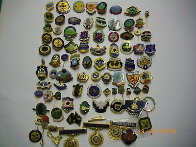 Collection Of Nsw Bowling Club Badges And Pins Plus Other Club Badges
