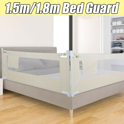 150/ 180cm Folding Lightweight Child Toddler Bed Rail Safety Protection Guard UK