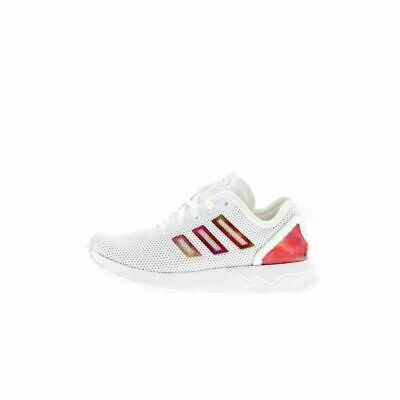 Juniors ADIDAS ZX FLUX ADV K White Trainers AQ2957