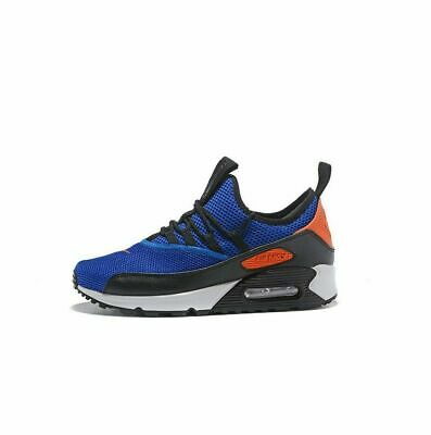 Juniors NIKE AIR MAX 90 EZ GS Racer Blue Trainers AH5211 400 UK 5.5 EUR 38.5
