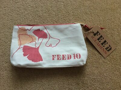 Clarins Make Up Cosmetics Bag Feed 10 **New with Tag**