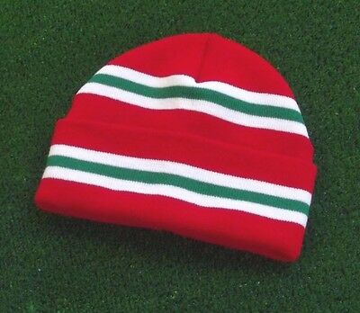 Wales Colours Retro Bar Hat - Red,White & Green - Made in UK