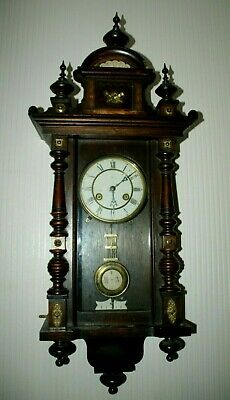 Antique JUNGHANS Vienna Style Wall Clock, Spares/Repair