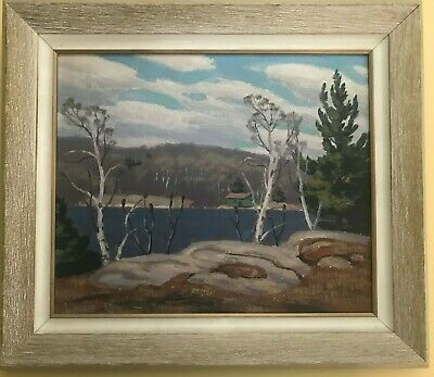 """Early Spring"" - Original Oil Painting by Canadian Artist George Thomson b 1868"