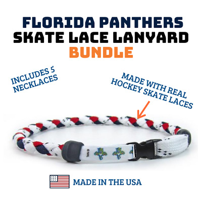 """20 - NHL Florida Panthers Necklaces 20"""""""
