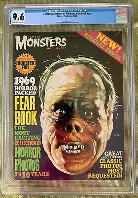 Famous Monsters of Filmland Yearbook 1969 CGC 9.6 -- Phantom of the Opera cover