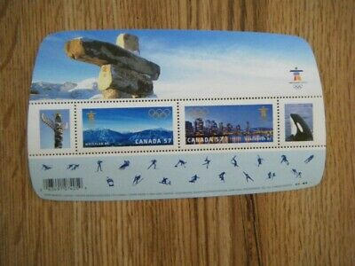 Canada#2366 MNH SS 'Vancouver 2010 Winter Games' Lot#4