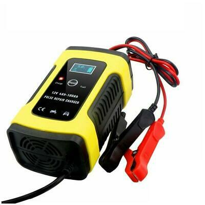 Charger Car Battery Starter Jump Power Booster 12v Bank Portable Smart New T4N7