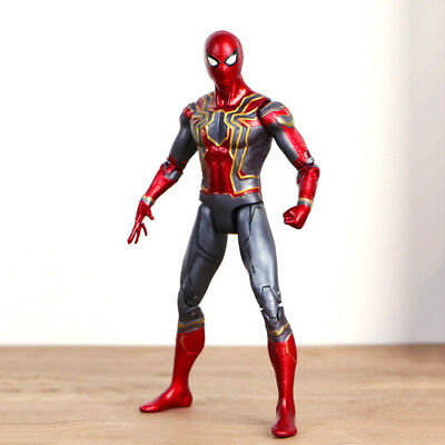 Marvel Avengers 3Infinity War Iron Spider-man heroes Action Figure 7'' Toy gift