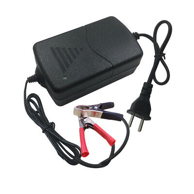 Car Battery Maintainer Charger 12V 1A Portable Auto Trickle Boat Motorcycle Well