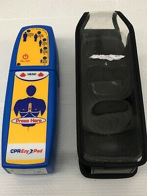 CPR Ezy-Pad - Aids effective CPR chest compressions - Rate Rhythm Depth