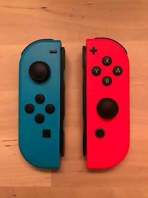 Nintendo Joy-Con (L/R) Wireless Controllers for Nintendo Switch Blue and Red
