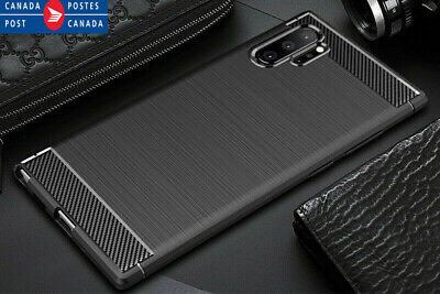 Samsung Galaxy Note 10 10 Plus 8 9 Shockproof Carbon Fiber Heavy Duty Case Cover