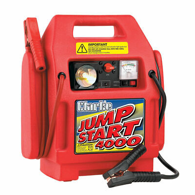 Clarke HEAVY DUTY Jumpstart 4000 High Quality FREE SHIPPING