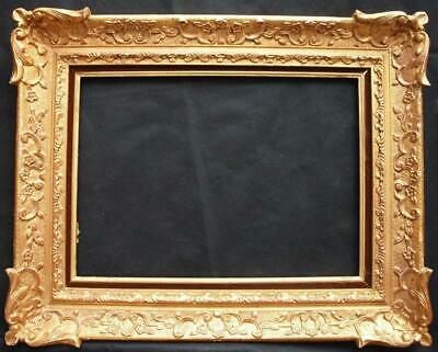 20th CENTURY FRENCH CARVED & GILT IMPRESSIONIST Painting/Picture Frame