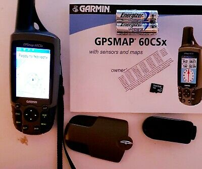 Garmin GPSMAP 60CSx with TOPPV2 Maps Loaded