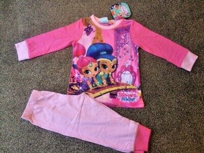 Official Shimmer and Shine Pyjamas Pj's Size 18 months - 5 Years - Brand New!!!