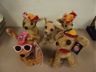 (5) Taco Bell Chihuahua's