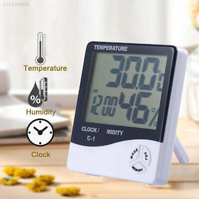 6222 8190 Weather Station Clock Wake Up Projector Office Durable
