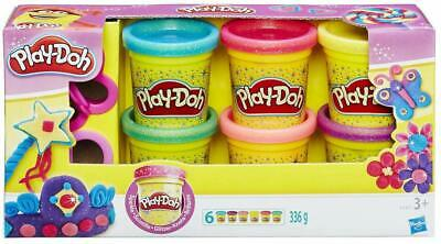Play-Doh Sparkle Compound 6-Pack