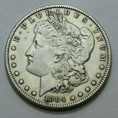 1884-P Morgan Silver Dollar, SUPERB  US OLD COIN, $1.00 , No Reserve.!