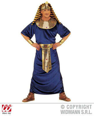 Mens Tutankhamen Costume Ancient Pharoah Egyptian King Fancy Dress Outfit