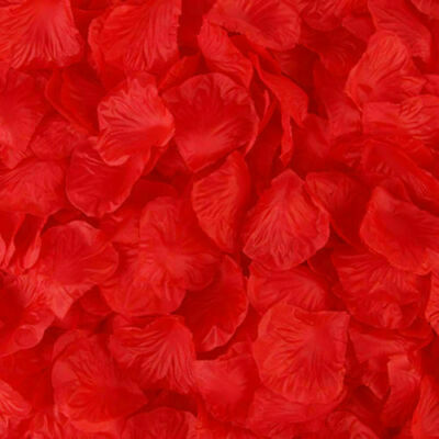 HIGH QUALITY Fragrance Rose Petals Wedding Confetti Room Scented Red Table Decor