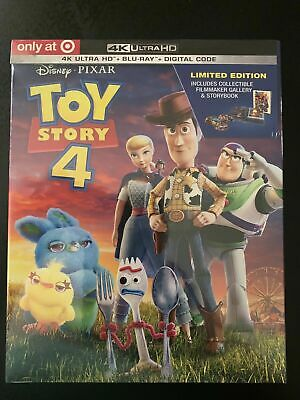 Toy Story 4 (4K/Blu-Ray/Digital Copy) (Target Exclusive) (New/Factory Sealed)