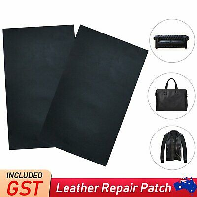 2-6x Self Adhesive Leather Repair Patches Kit Sofa Couch Car Seats Patching Tool